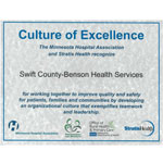 Culture of Excellence Certificate