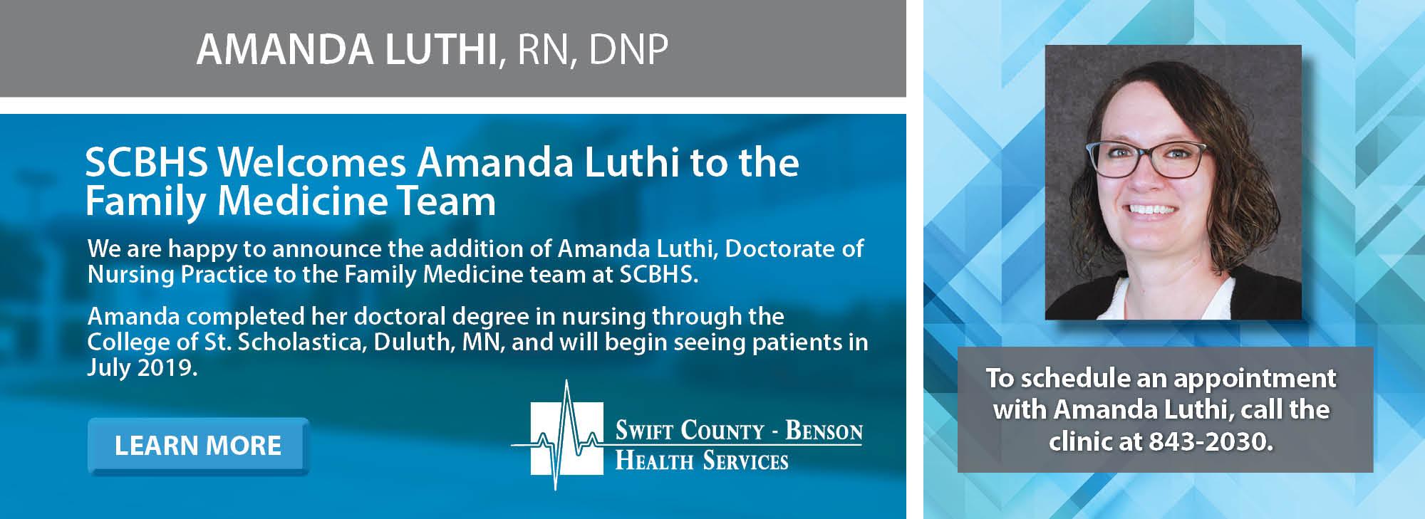Amanda Luthi, DNP