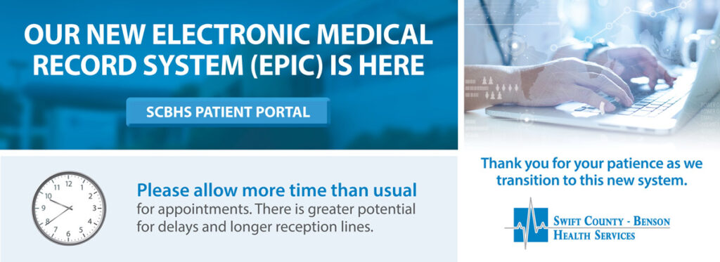 EPIC - electronic health records system